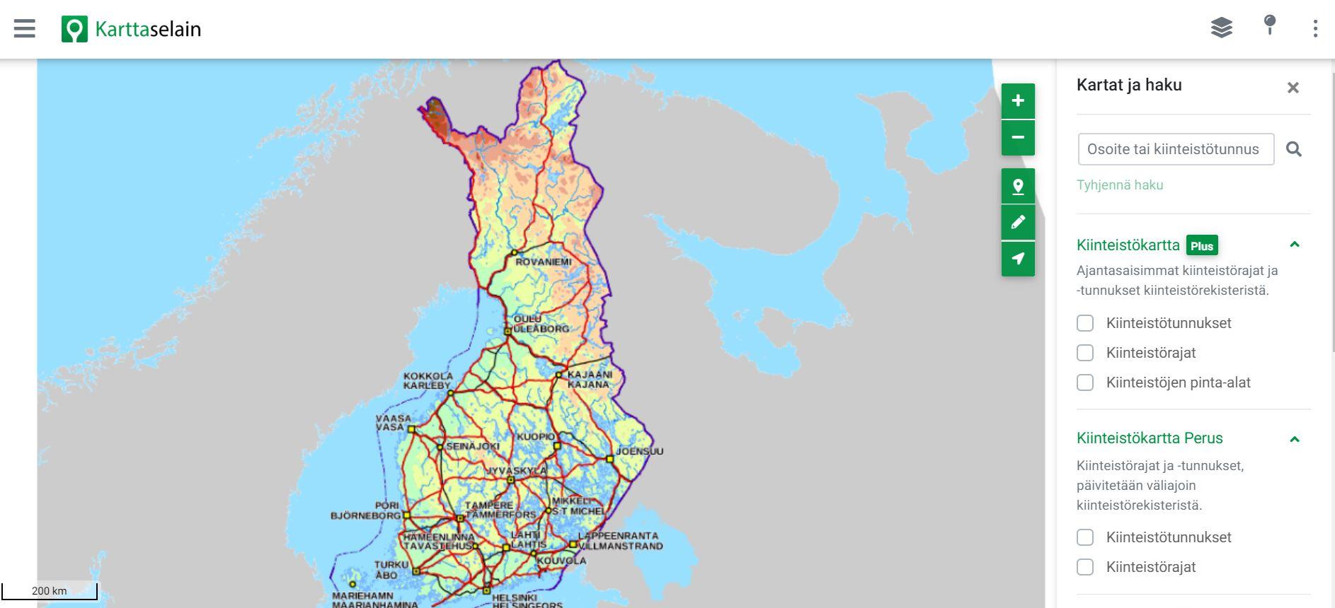 karttaselain-maastokartta