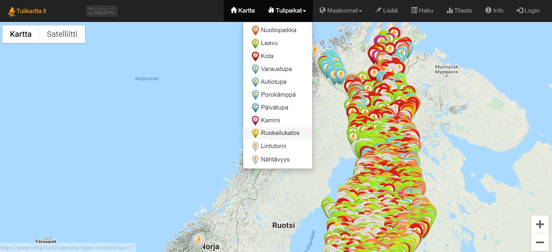tulikartta-fi-tulentekopaikat-kartalla