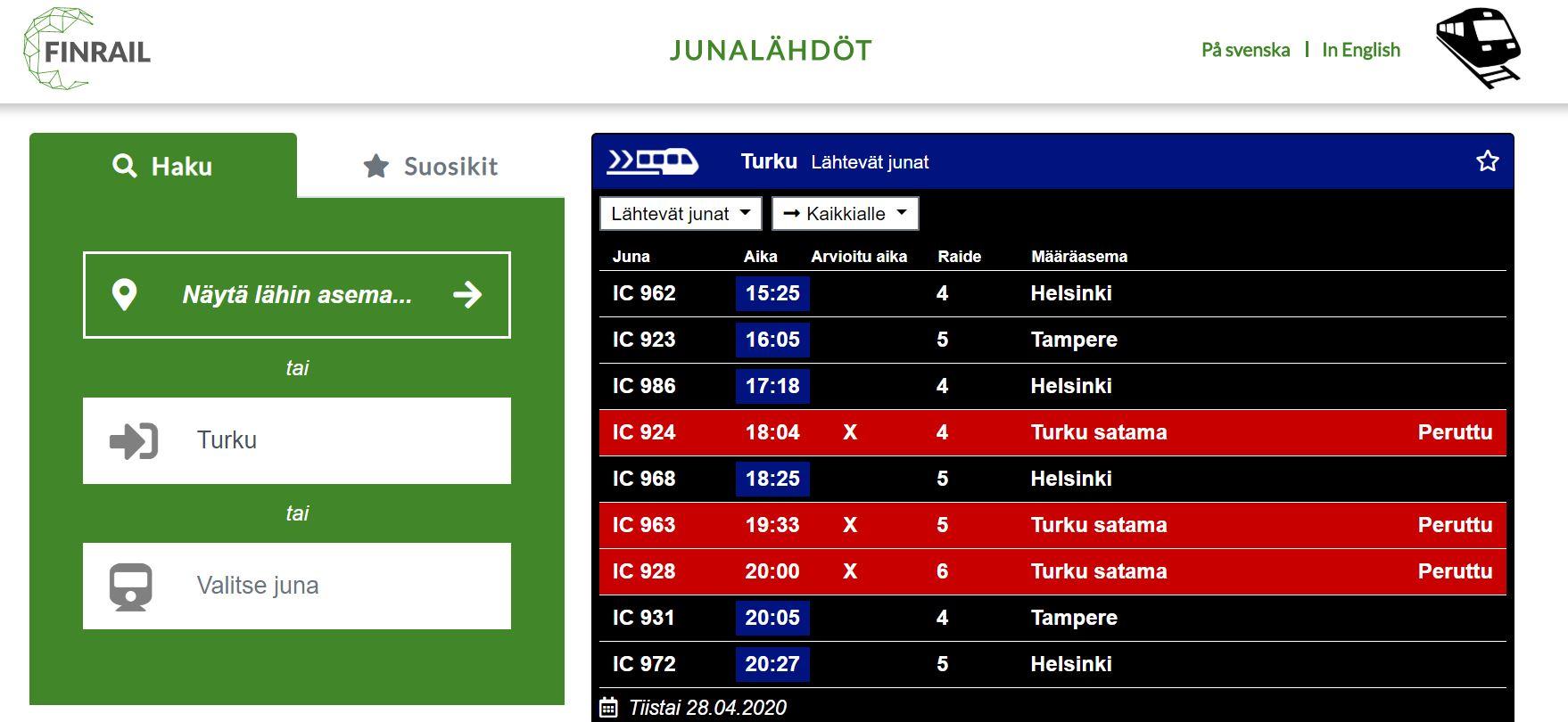 junalahdot-fi-aikataulupalvelu